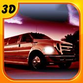 Limo Parking Simulator 3D icon