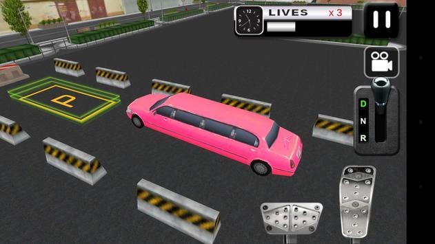 Limo Parking Simulator 3D apk screenshot