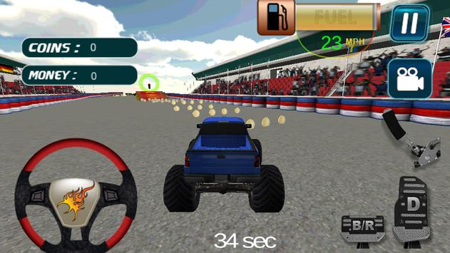 Monster Truck Stunt 3D apk screenshot