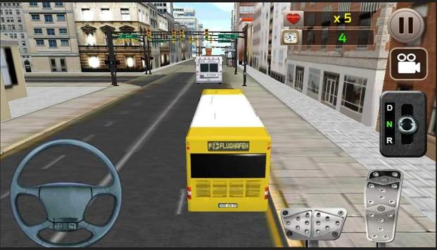 Real Bus Parking 3D screenshot 1