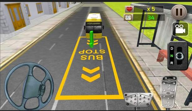 Real Bus Parking 3D screenshot 3