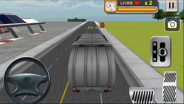 Real Garbage Truck Simulator poster