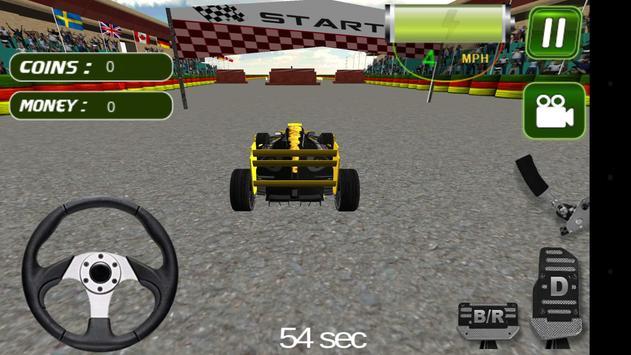 Sports Car Driver 3D poster