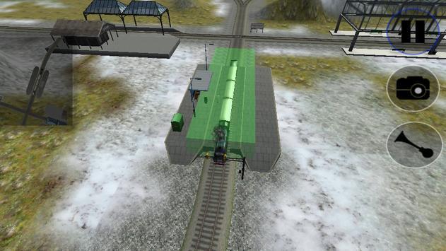 Speed Train Simulator 3D poster