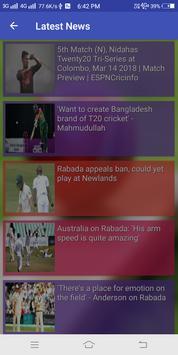 IPL Shedule 2018 & Live Cricket Score 2018 screenshot 1