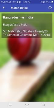 IPL Shedule 2018 & Live Cricket Score 2018 screenshot 2