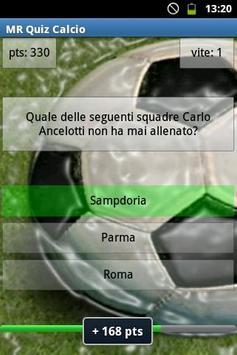 MR Quiz Calcio poster