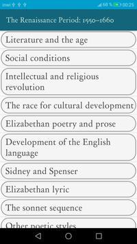 English Literature screenshot 1