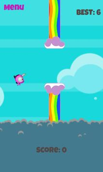 Flappy Unicorn Free apk screenshot