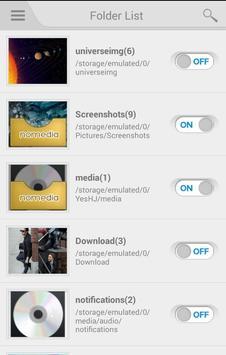 Nomedia apk screenshot