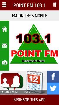 Point FM 103.1 poster