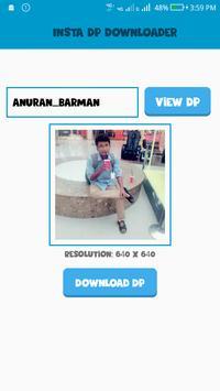 Insta DP Downloader apk screenshot
