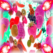 Fruit match 3 mania icon