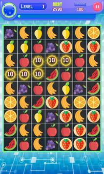 Fruit match 3 mania screenshot 1