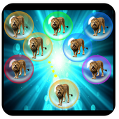 Save the Lions - Free Match & Pop Bubble Game icon