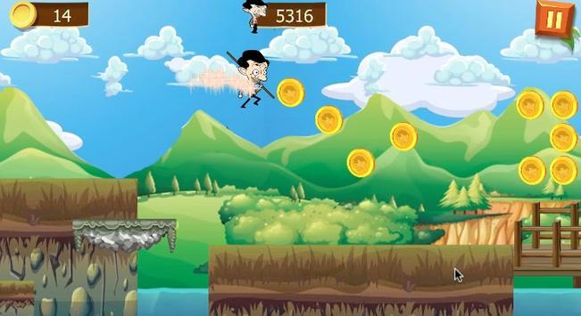 mr bean super hero runner screenshot 4