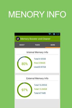 Memory Booster and Cleaner screenshot 3