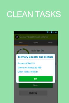 Memory Booster and Cleaner screenshot 1