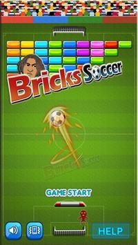 BRICKS SOCCER poster