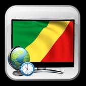 TV Congo guiding list time icon