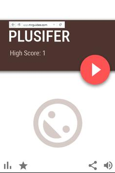 Plusifer - Addictive & Fun poster