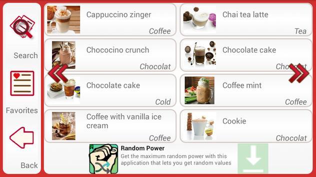 Coffee Recipes apk screenshot
