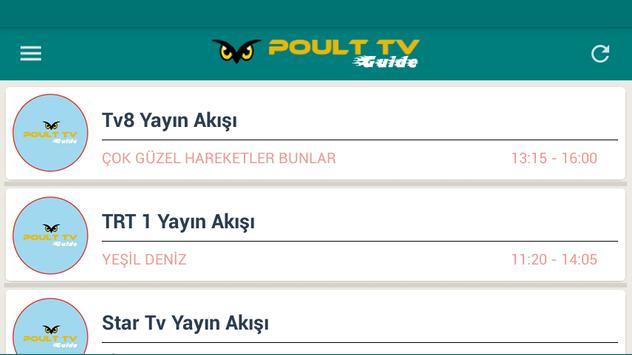 Poult TV Guide captura de pantalla 8