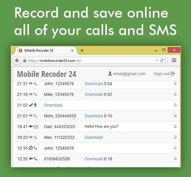 Hidden Call Recorder पोस्टर