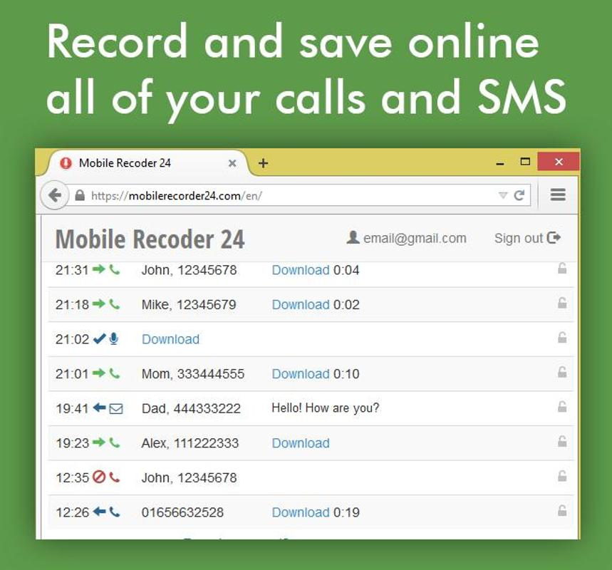 call recorder apk download for android