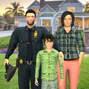 Ayah Keluarga Polisi Amerika Virtual APK