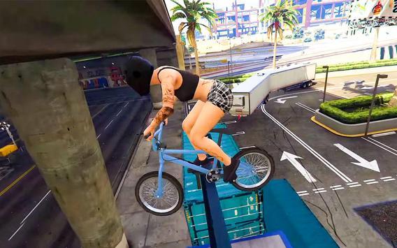 BMX Stunt Tricks Master screenshot 1