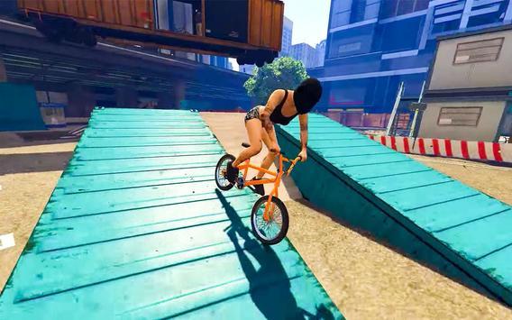 BMX Stunt Tricks Master screenshot 2
