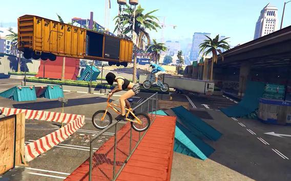 BMX Stunt Tricks Master screenshot 4