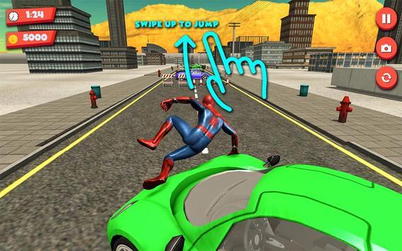 Superhero Extreme Parkour poster