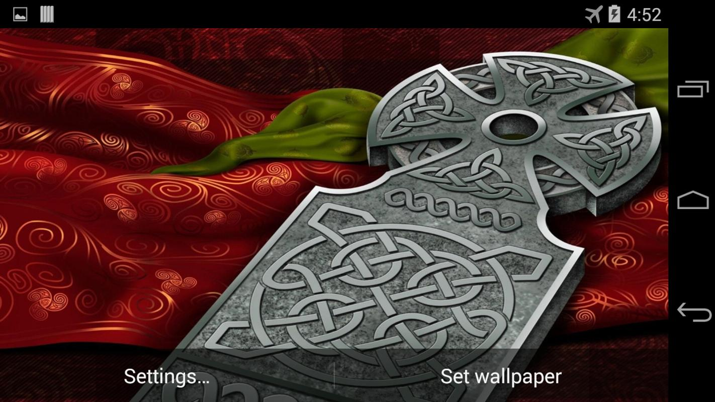 Celtic Cross Live Wallpaper For Android
