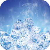 Ice Cubes Live Wallpaper FREE icon