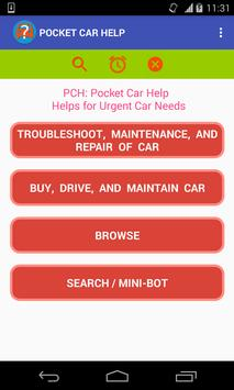 PCH: Roadside Car Troubleshoot, Repair Assistance poster