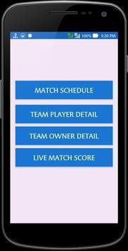Schedule for IPL 2017 Live apk screenshot