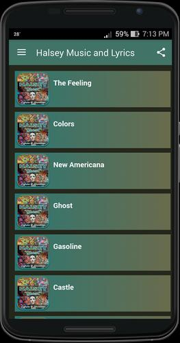 Halsey Music and Lyrics for Android - APK Download