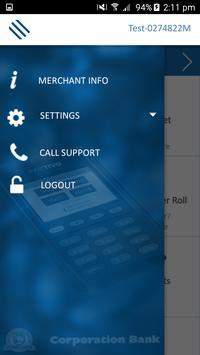 Corporation Bank Pos Manager apk screenshot