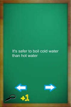 Common Sense Tips poster
