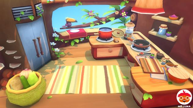 Mr. Luma's Cooking Adventure apk screenshot