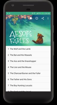 Aesop's Fables Audible Book poster