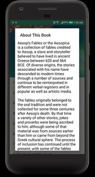 Aesop's Fables Audible Book screenshot 1