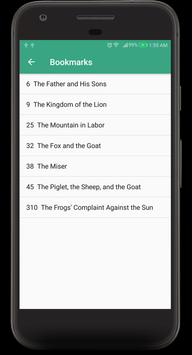 Aesop's Fables Audible Book screenshot 2