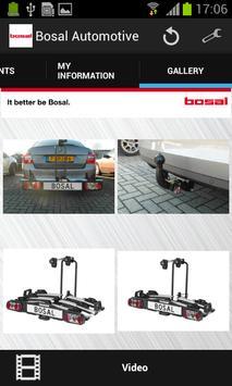 Bosal automotive screenshot 3