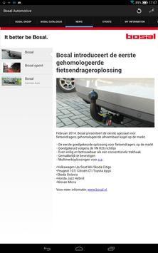 Bosal automotive screenshot 6