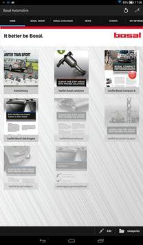 Bosal automotive screenshot 8