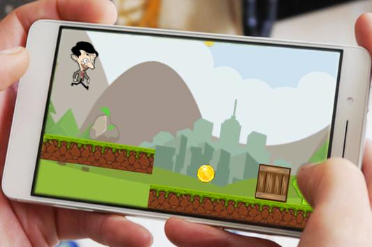 Mr Pean Fun: Adventure Run apk screenshot