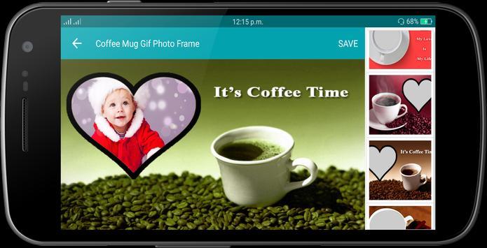 Coffee Mug Gif Photo Frame screenshot 13